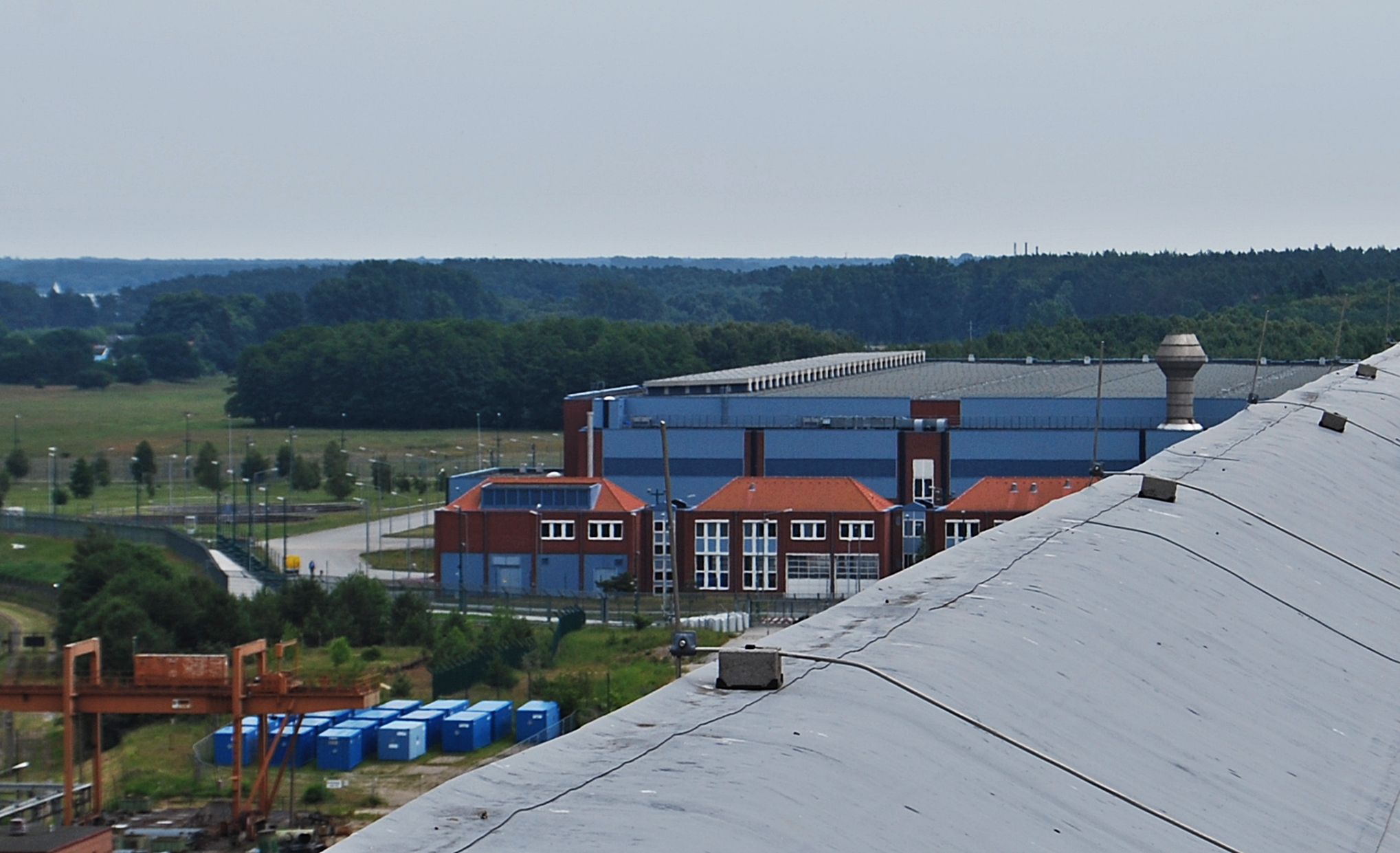 Zwischenlager Nord Lubmin, Lüftung FAKIR (Bearbeitung radioaktiver Abfälle)